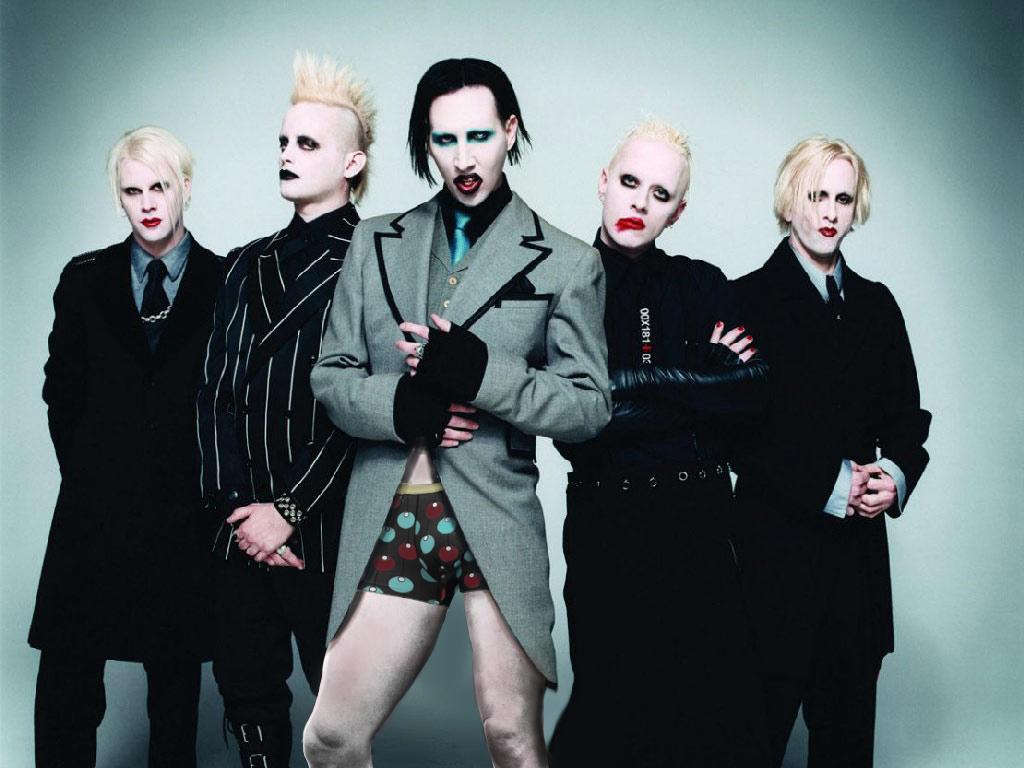 Marylin Manson, Photoshop Design by Furrycandy