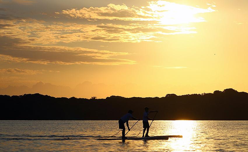 Esportes náuticos tem aulas gratuitas em São Sebastião