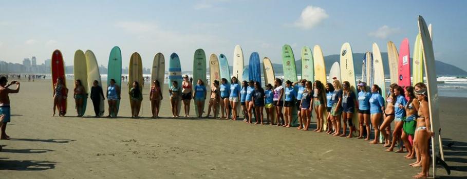 Festival Prancha Oca de Longboard Feminino