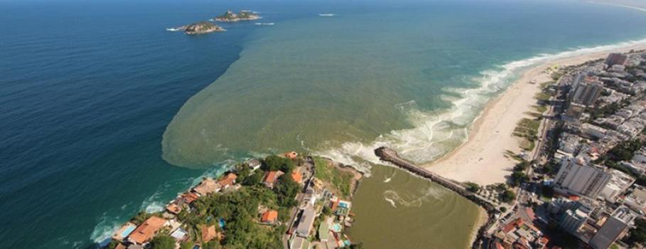 Poluição pode afastar mundial de surfe da Barra