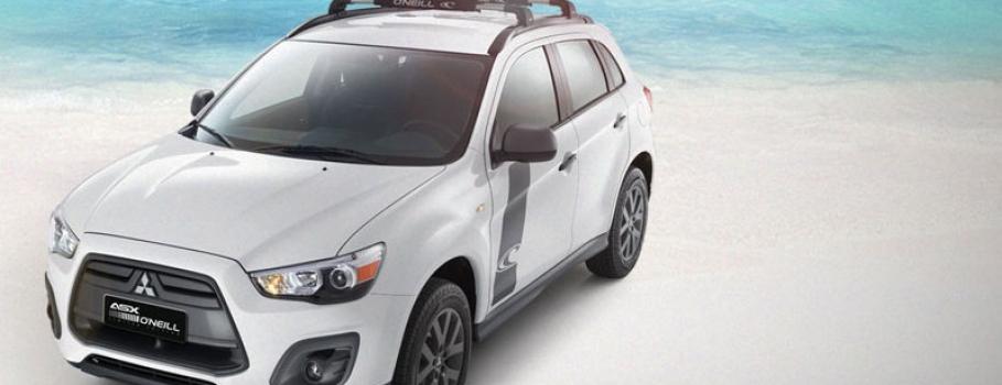 Mitsubishi ASX O'Neill invade a sua praia
