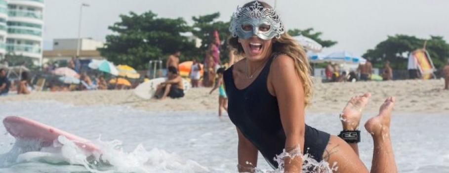 Folia no outside com Brasil Surf Girls no Rio de Janeiro