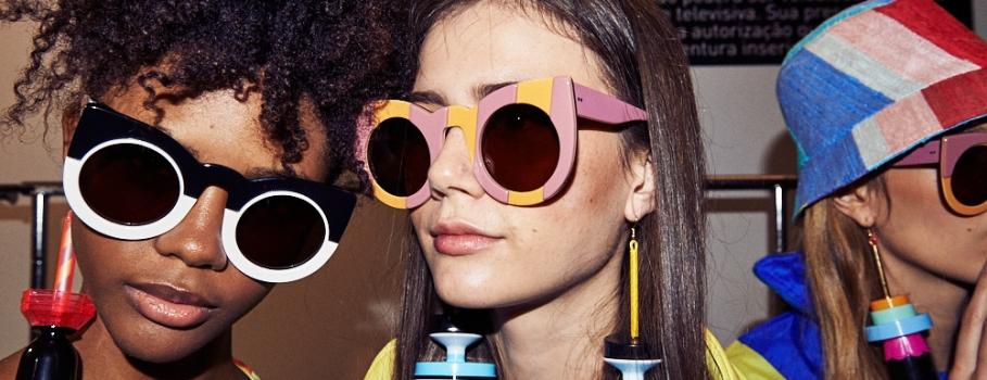Óculos Zerezes marca presença na SPFW